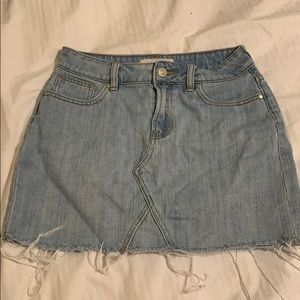 Pacsun denim mini skirt